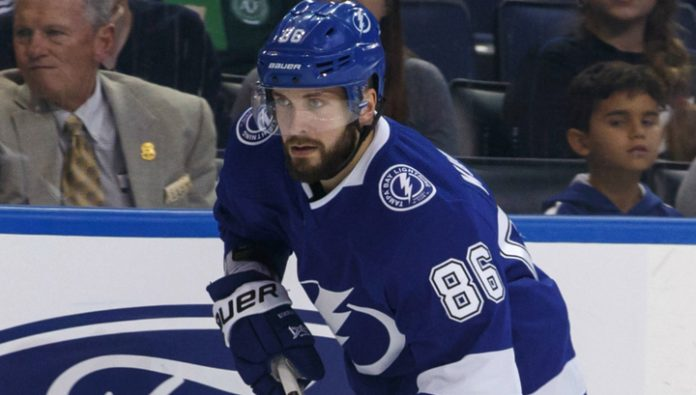 Kucherov's two goals did not save the