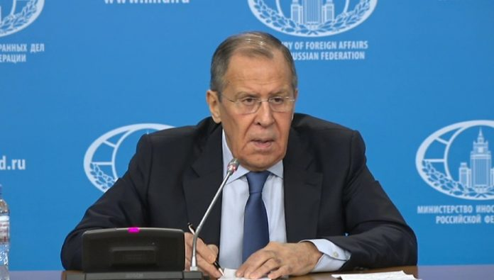 Lavrov responded to the question about the further work