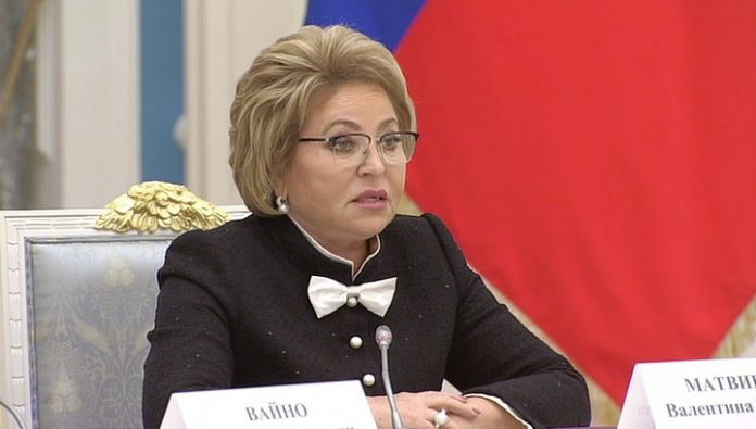Matvienko: in such turbulent times, you need to ensure the sovereignty of