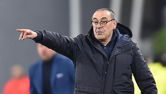 Maurizio Sarri: went to the game against Napoli with the right attitude