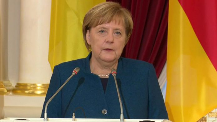 Merkel went to Moscow not because of the murder Soleimani