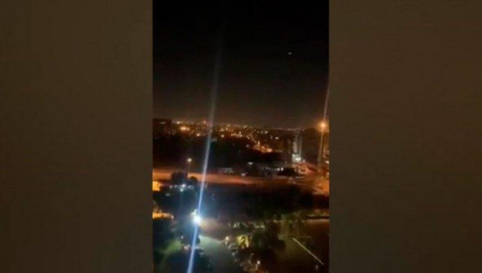 Military of Iraq: Baghdad fell two homemade rockets, no injuries