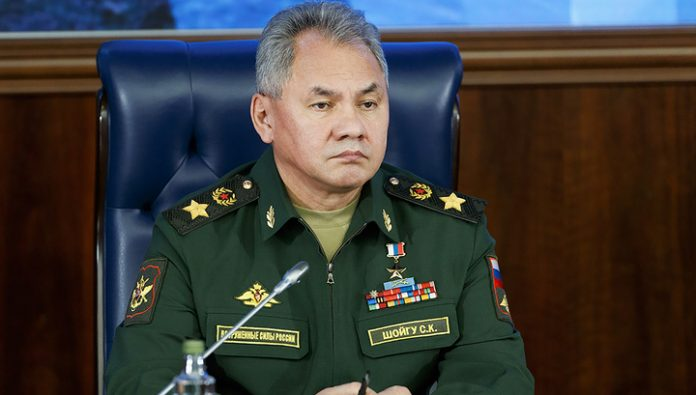 Minister Shoigu spoke with the chief of staff of Iran's Bagheri