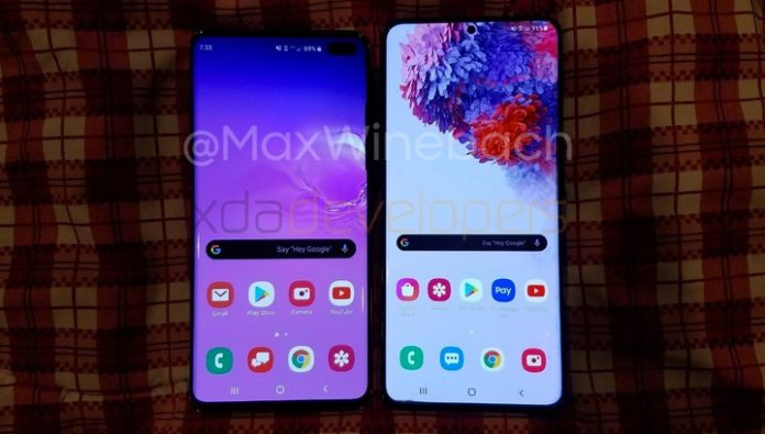 New details about Samsung Galaxy S20 Plus: the screen is 120 Hz and the lack of audio Jack