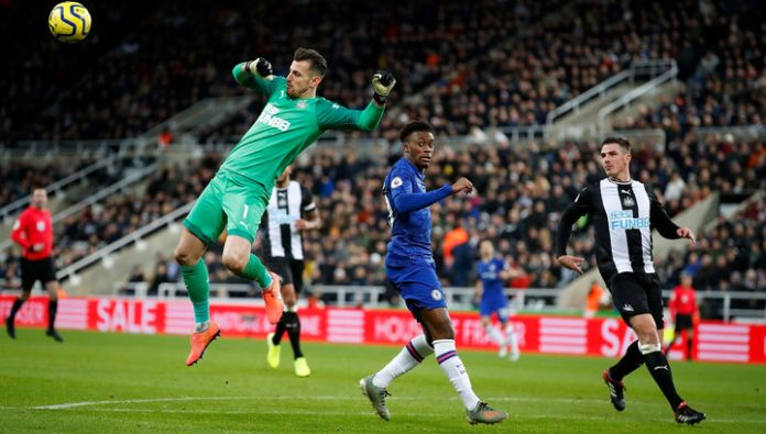 Newcastle in stoppage time snatched victory from Chelsea