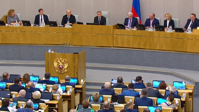 None against: the state Duma voted for mishustina, the President signed a decree