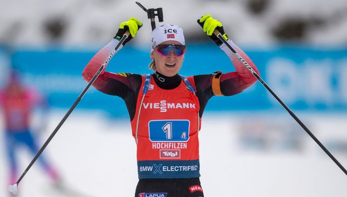 Norwegian Raceland won the sprint at the stage of cube world