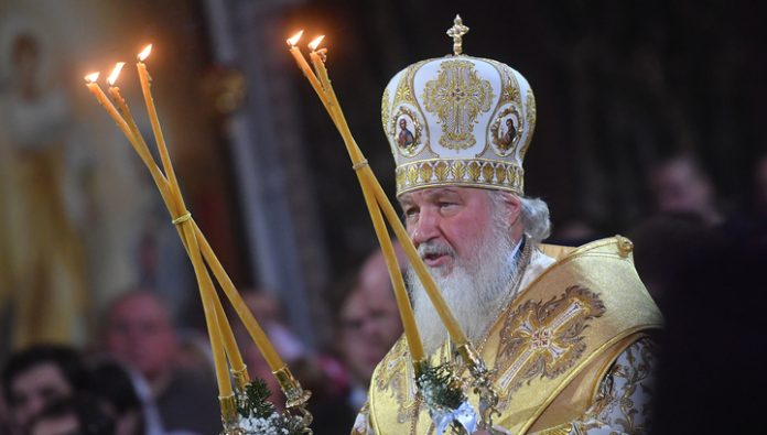 Patriarch Kirill congratulated believers on Christmas