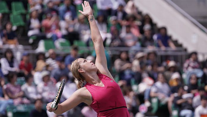Pavlyuchenkova advanced to the second round of the tournament in Adelaide