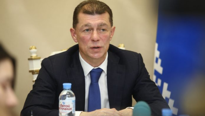 Pension Fund of the Russian Federation was headed by Maxim Topilin