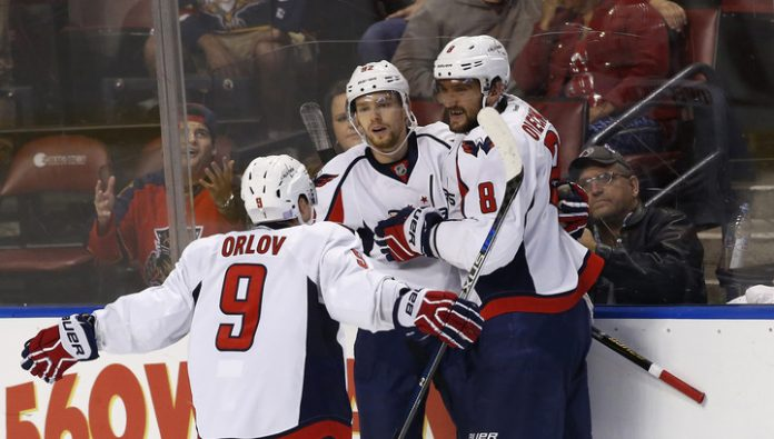 Points of Ovechkin, Kuznetsov and Orlov has not helped