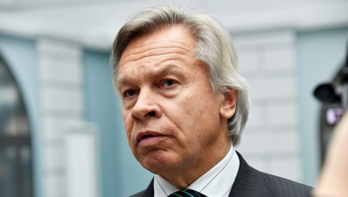 Pushkov said Pompeo, they can count on the Americans