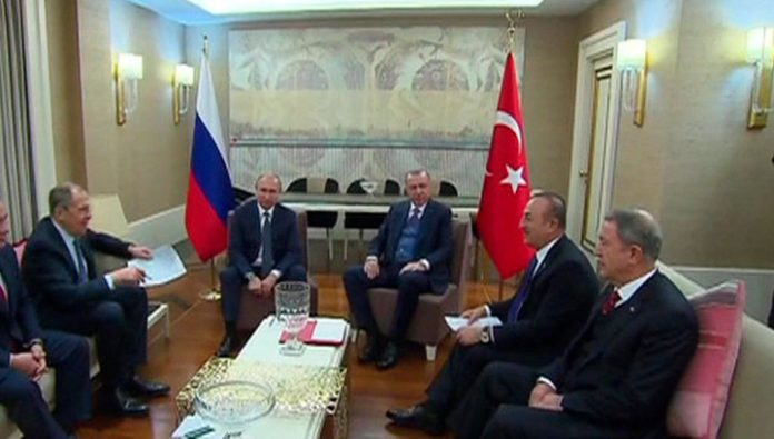 Putin and Erdogan agreed on a common position on Libya