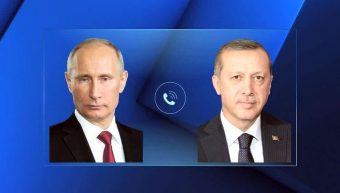 Putin and Erdogan expressed readiness to contribute to overcoming the crisis in Libya