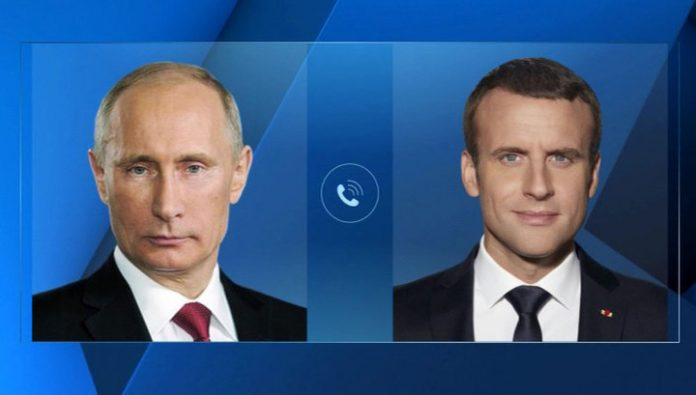 Putin and macron discussed the murder Soleimani. Trump has spoken out on Twitter