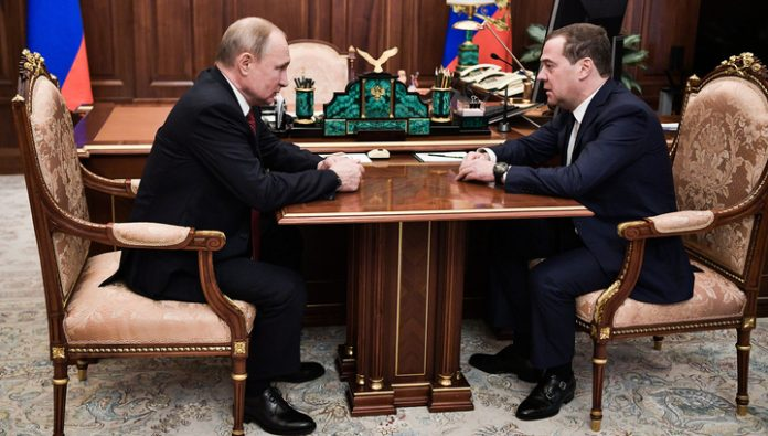Putin discussed with Medvedev the implementation of theses Messages