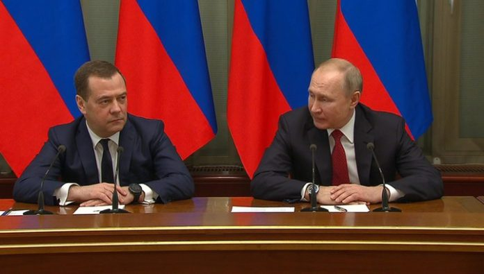 Putin proposed to introduce the post of Deputy head of the security Council and to assign it to Medvedev