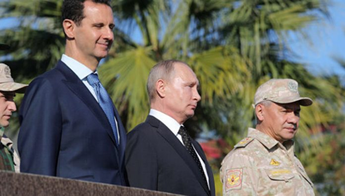 Putin took a walk in Damascus and gave the Orthodox Church the icon