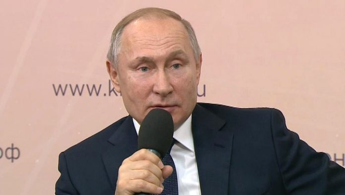 Putin: with the implementation of the Message should never be