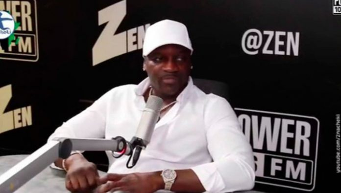 Rapper Akon will be built in Senegal, the city and name it in his honor