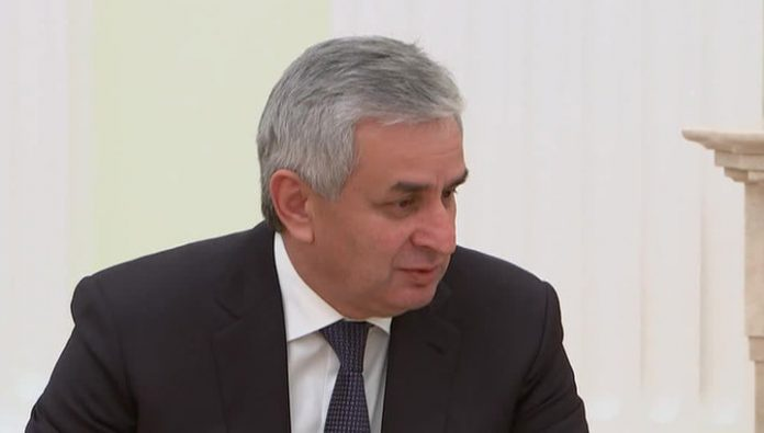 Raul Khajimba and Rashid Nurgaliyev discussed ways of normalizing the situation in Abkhazia