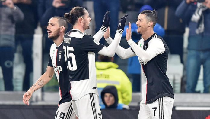 Ronaldo goal helped Juventus to beat Roma out of Italian Cup