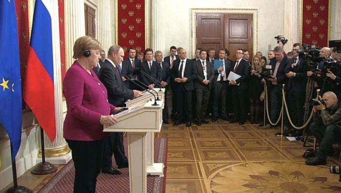 Russia highly appreciates the position of Germany: Putin and Merkel discussed the gas issue