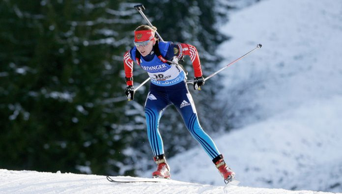Russian biathletes won the mixed relay at the IBU Cup