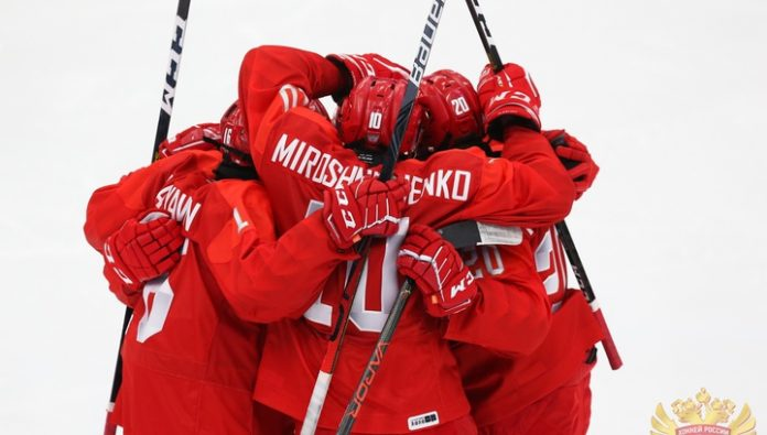 Russian hockey players defeated the Danes and reached the semi-finals of the youth Olympic games