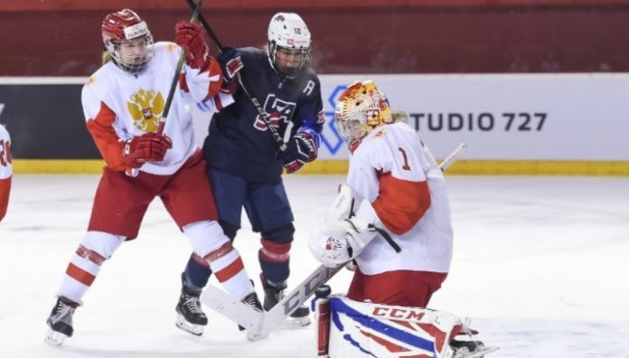 Russian hockey players lost to the Americans in the semifinals of the youth world championship