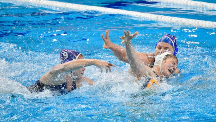 Russian water Polo players lost to the Hungarians in the European championship