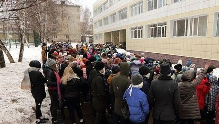 Schools of Vladivostok evacuated from-for messages on