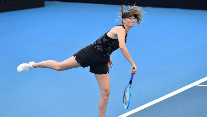 Sharapova has not managed to overcome the barrier of the first circle on tournament in Brisbane