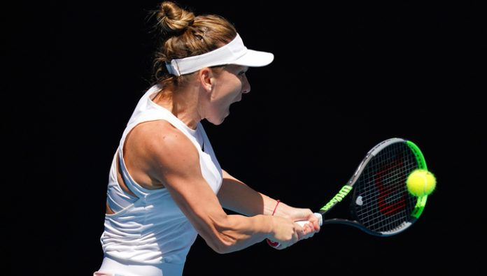 Simona Halep reached the quarter-finals of the Australian Open tennis