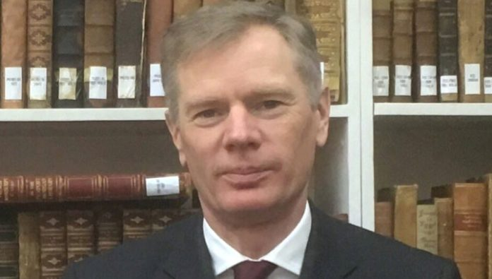 The British Ambassador in Tehran said that was not a demonstration and vigil