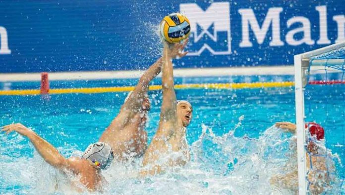 The Championship Of Europe. The Russian water Polo team left in the playoffs