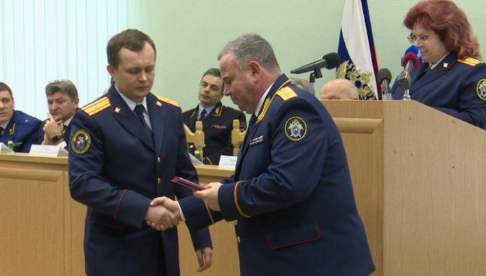 The chief investigator of the Voronezh region awarded the meritorious service medal