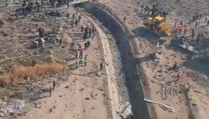 The collapse of Boeing 737 in Tehran: details