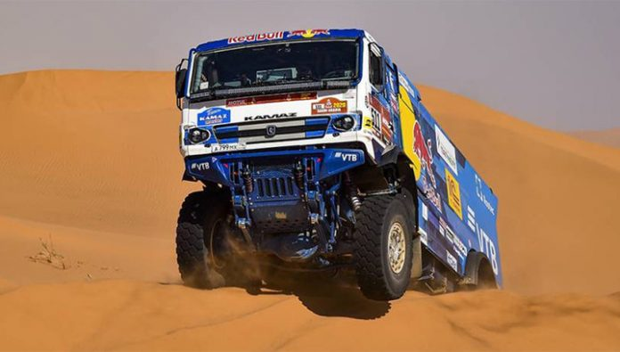 The crew of Andrey Karginov won the 11th stage of the Dakar