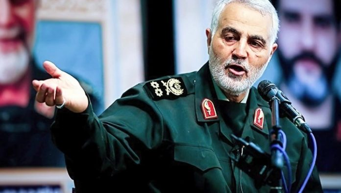The farewell ceremony with Soleimani was headed by Ayatollah Khamenei
