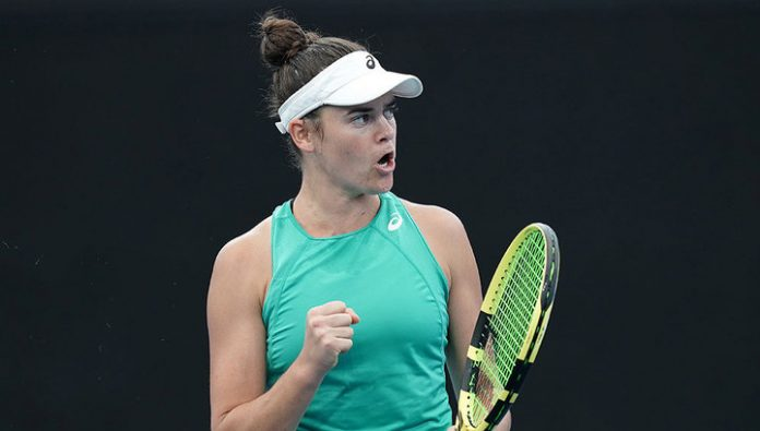 The first racket of the world has eliminated from the tournament in Brisbane, losing to Sharapova offender