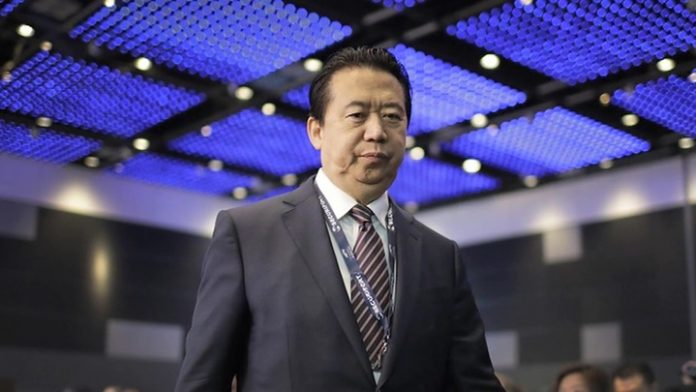 The former head of Interpol has received 13.5 years in prison for bribery