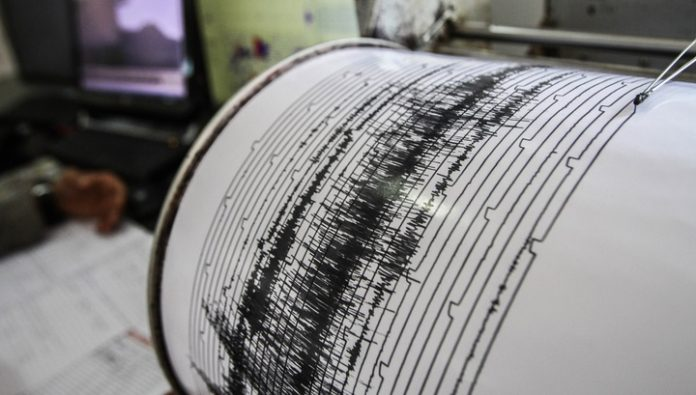 The Japanese island of Honshu was rocked by tremors