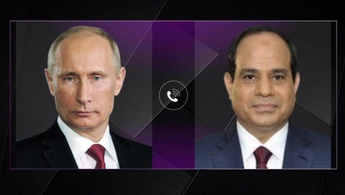The leaders of Russia and Egypt discussed Libya, Syria and nuclear energy