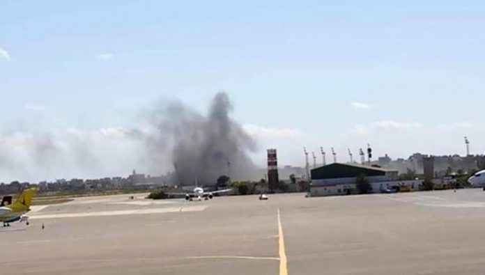 The national consensus government accused the Haftarot in the bombardment of Tripoli