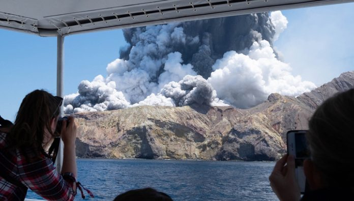 The number of victims of the eruption at white island has increased to 20