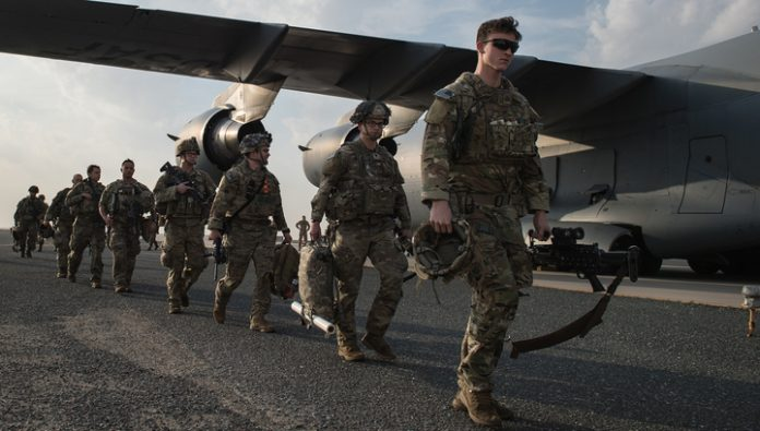The Pentagon said that the US has no plans to withdraw troops from Iraq