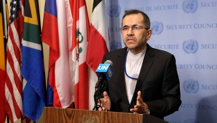 The permanent representative of Iran to the United Nations: avenged Soleimani, new hostilities will not