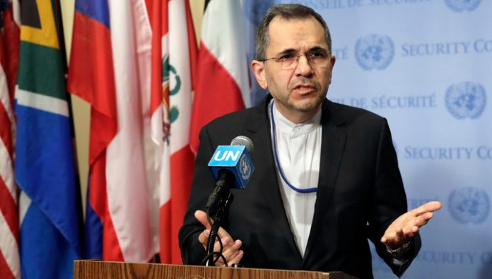 The permanent representative of Iran to the United Nations: the revenge for the murder Soleimani will