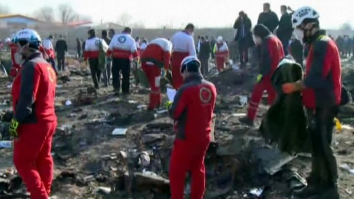 The remains of 11 Ukrainians killed in the crash